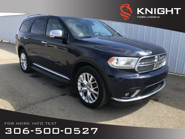 Knight Dodge Swift Current >> Pre Owned 2015 Dodge Durango Citadel Sport Utility In Moose