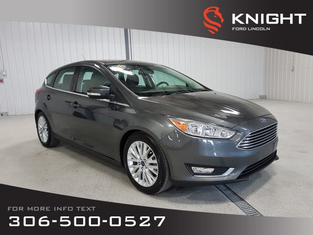 Pre Owned 2016 Ford Focus Titanium Fwd Hatchback