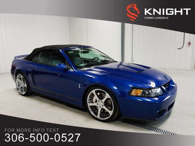 Pre-Owned 2003 Ford Mustang Cobra SVT Cobra, Upgrades!!