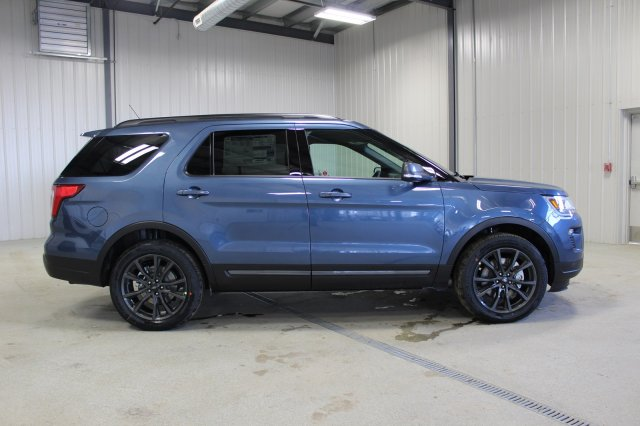 2018 Ford Explorer Spec >> New 2018 Ford Explorer Xlt Appearance Package Sport Utility In Moose