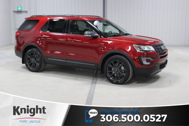 Certified Pre-Owned 2017 Ford Explorer XLT Appearance Package Navigation