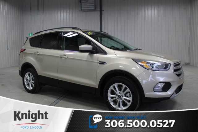 certified pre owned 2017 ford escape se navigation sport utility in moose jaw t8022a knight. Black Bedroom Furniture Sets. Home Design Ideas