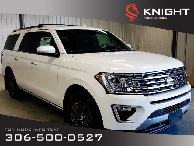 New 2019 Ford Expedition Limited Max 4x4