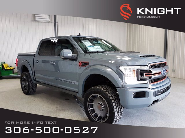 New 2019 Ford F-150 LARIAT SuperCrew HARLEY DAVIDSON EDITION