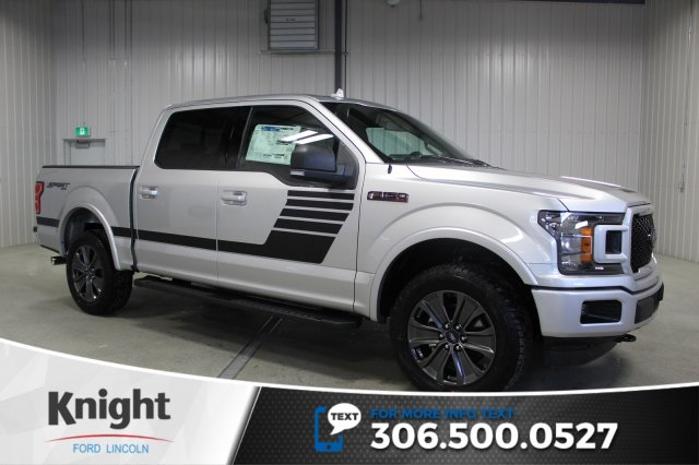 New 2018 Ford F 150 Xlt Sport Special Edition Crew Cab Pickup In