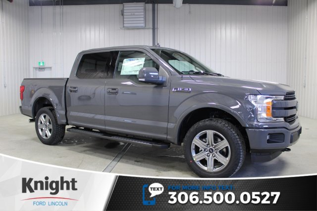 New 2018 Ford F-150 Lariat Sport