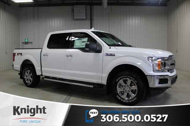 New 2018 Ford F 150 Xlt Xtr Crew Cab Pickup In Moose Jaw Fs8916