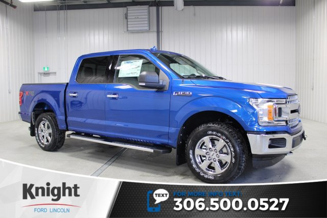 New 2018 Ford F 150 Xlt Xtr Crew Cab Pickup In Moose Jaw Fs8946