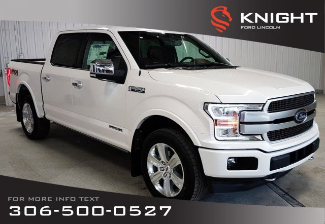 New 2019 Ford F-150 Platinum SuperCrew