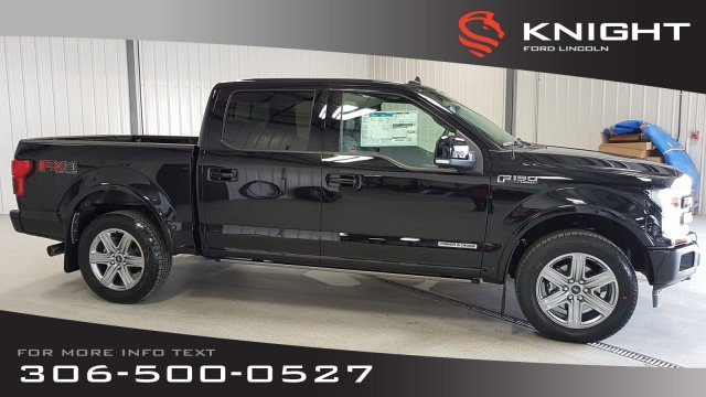 Super Crew Cab >> New 2019 Ford F 150 Lariat Sport Supercrew With Navigation 4wd