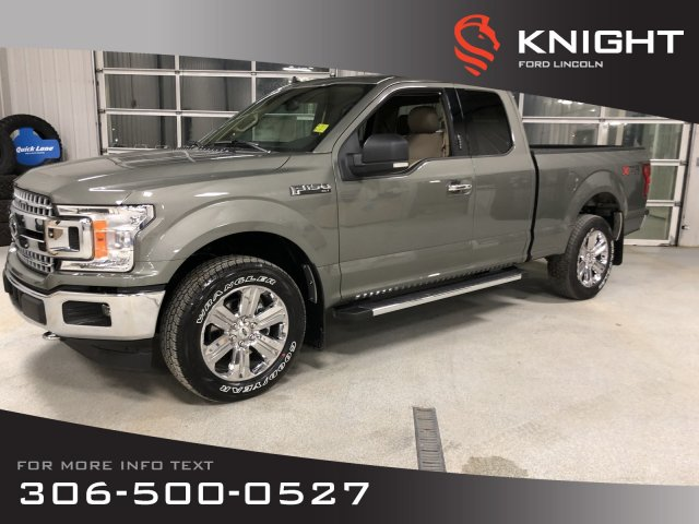 New Ford F150 >> New 2019 Ford F 150 Xlt Supercab 4x4 Chrome Wheels Factory Warranty 4wd