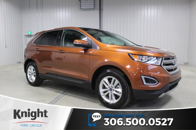 Certified Pre-Owned 2017 Ford Edge SEL Navigation, Moon Roof