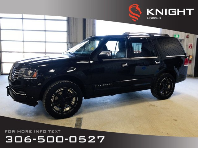 Pre-Owned 2015 Lincoln Navigator Reserve, Auto, Leather, Sunroof, 4x4, Just Arrived!!