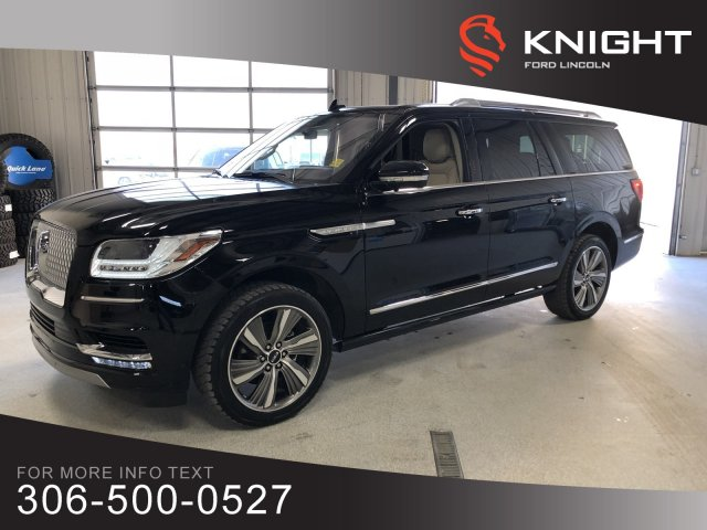 Pre-Owned 2018 Lincoln Navigator L Reserve, Extended, Entertainment Pack, Captain Chairs!