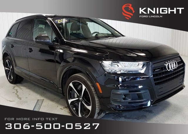 Pre-Owned 2018 Audi Q7 Technik, Special Edition, Local Trade, Certified, Low KMS!