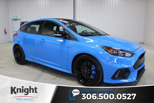 New 2018 Ford Focus Rs Hatchback In Moose Jaw Fc8353 Knight Ford