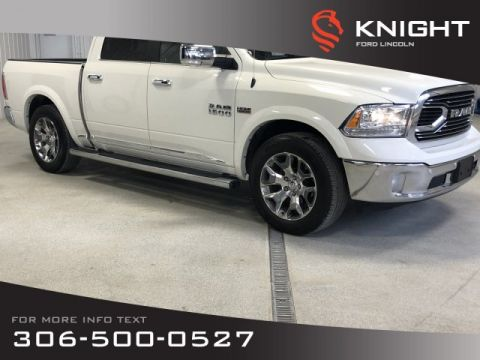 Pre-Owned 2017 Ram 1500 Longhorn Limited, Certified, Spray Liner, Loaded