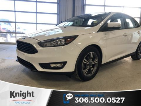 Pre-Owned 2017 Ford Focus SE, Auto, Back up Cam, Certified, Great on Fuel!