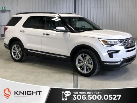 New 2019 Ford Explorer Limited, Leather, Sunroof, 4x4, Htd Seats, Navigation, Remote Start, Warranty