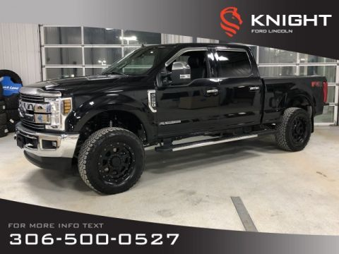 Pre-Owned 2019 Ford Super Duty F-250 SRW LARIAT, Supercrew, Diesel, 4x4, Leather, Lift Kit, Upgraded Wheels, Tonneau