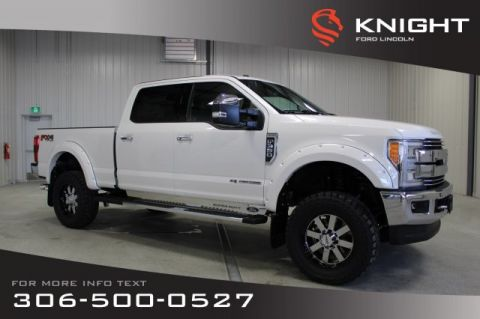 Pre-Owned 2017 Ford Super Duty F-350 SRW Lariat, Crew, Diesel, Lift, Upgraded Rims/Tires, Demo Truck, Lots of Extras!!