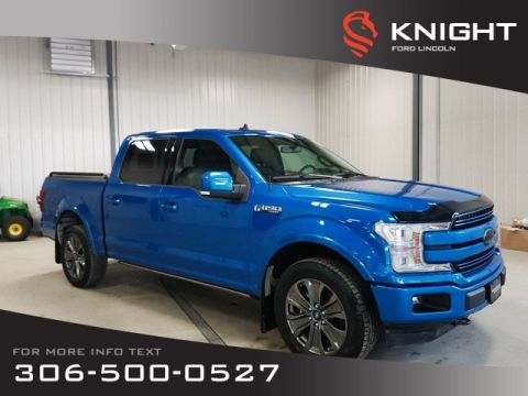 New 2019 Ford F-150 Supercrew Lariat Sport 502a Max Tow