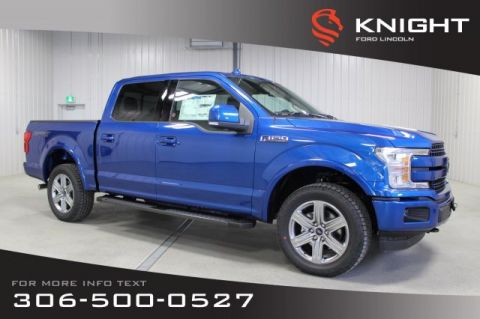 New 2018 Ford F-150 Supercrew Lariat Sport