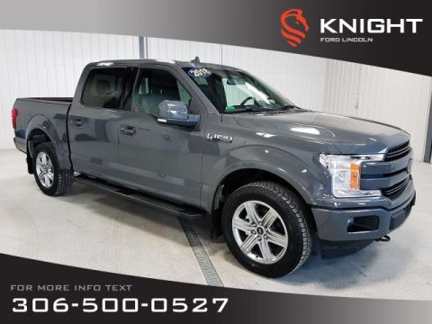 Pre-Owned 2018 Ford F-150 LARIAT, Fresh Trade, Loaded, One Owner, Factory Warranty!!