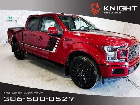 New 2019 Ford F-150 Lariat Sport SuperCrew