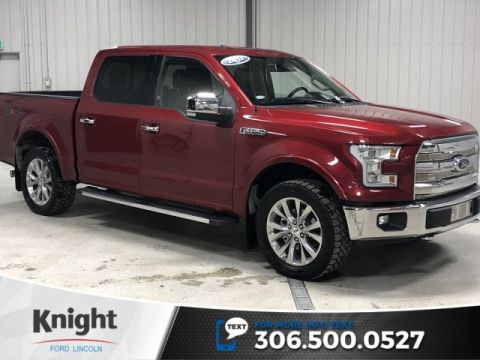 Pre-Owned 2017 Ford F-150 Lariat, Local, Certified, Chrome Pack, One Owner