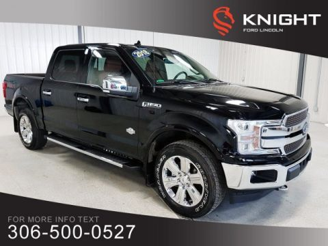 Pre-Owned 2018 Ford F-150 King Ranch, Crew, Ecoboost, Loaded, One Owner, Mint Condition!!