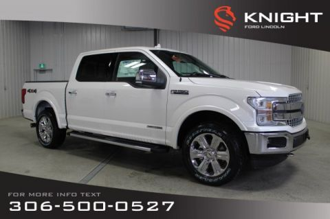 New 2018 Ford F-150 Supercrew Lariat Diesel