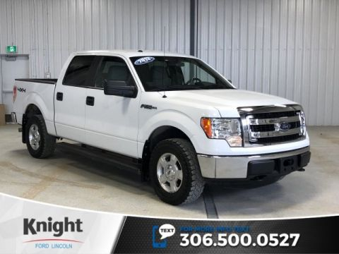 Pre-Owned 2013 Ford F-150 XLT, Auto, Supercrew, 6 Pass, 4x4, Local Trade!