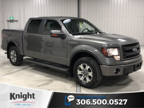 Pre-Owned 2013 Ford F-150 FX4, Auto, Crew, 4x4, Tonneau Cover, Local Trade