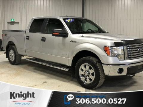 Pre-Owned 2011 Ford F-150 XLT, Supercrew, Auto, 4x4, 6 Passenger, XTR Package!