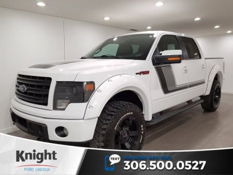 Pre-Owned 2014 Ford F-150 FX4, Crew, Auto, 4x4, Lift, Upgraded Wheels/Tires, Flares