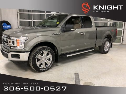 New 2019 Ford F-150 XLT, Supercab, 4x4, Chrome Wheels, Factory Warranty