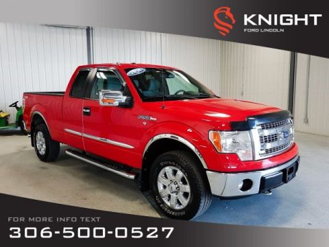 Pre-Owned 2014 Ford F-150 SuperCab XLT 4X4
