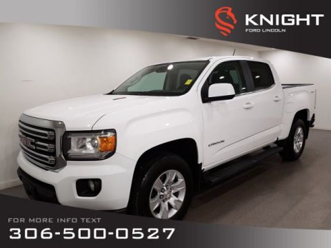 Pre-Owned 2016 GMC Canyon 4WD SLE, Crew, Diesel, Auto, 4x4, Certified