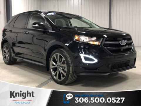 Pre-Owned 2016 Ford Edge Sport, Auto, AWD, Leather, Sunroof, Navi, Htd Seats, Certified, Low KM
