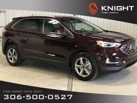 New 2019 Ford Edge SEL, Auto, Leather, AWD, Back up Cam, Remote Str, Htd Seats