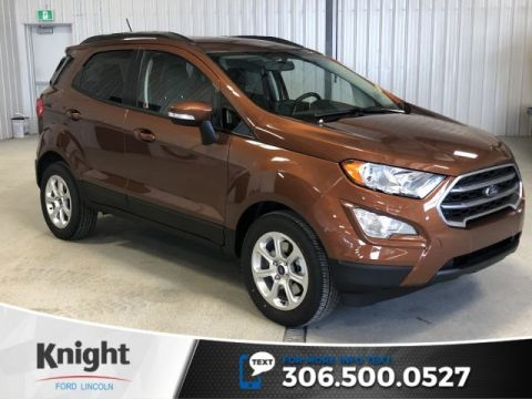 New 2019 Ford EcoSport SE, Auto, Great on Fuel, Sunroof, Heated Seats, Factory Warranty!!!